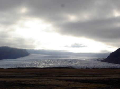 Vatnajokull (still driving around it 2 days later!), SE Iceland
