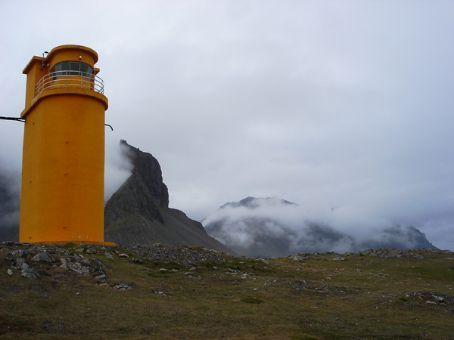 Hvalnes lighthouse, SE Iceland