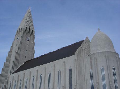 Reykjavik cathedral