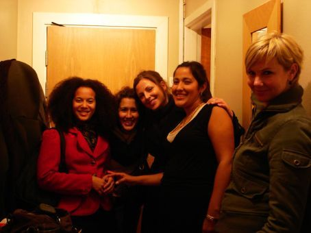 Girl's night - Luanda, Nahidu, Edun, Isis and Saskia