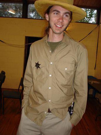 Diccon at Doug's 21st, Dec 2005
