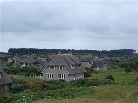 Beach houses on the island of Ameland