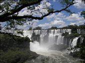 Die Wasserfälle des Iguazu - zumindest ein Teil davon: by rayen, Views[12534]
