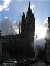 Check out the angle on that! A lovely little church in Delft. Holland.: by raz-and-laz, Views[204]