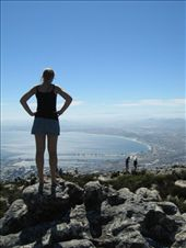 Sarah on the top of Table Mountain.: by reachteam, Views[474]