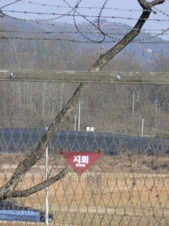 The DMZ is one the most heavily mined areas of the world.