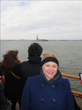 Catching a glimpse of Lady Liberty on the Staten Island Ferry: by reannonelizabeth, Views[32]
