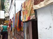 The colourful sari shops: by remlaph, Views[687]