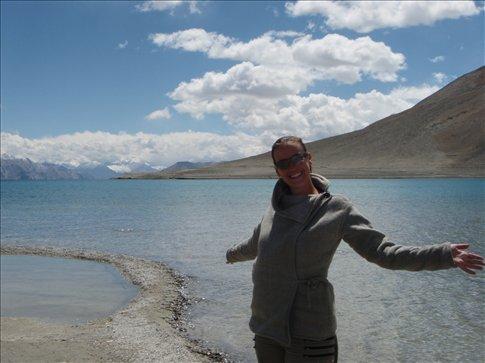 Me at Pangong Lake