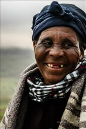 Transkei Mama laughing as we say goodbye after our stay in their rural village.: by renette, Views[107]