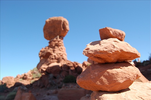 A pitstop on the trail: From man-made rocks to distant mother natures wonders