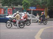 These guys are bike taxis. The beep there horn to get your attention: by rhonda_gray, Views[141]