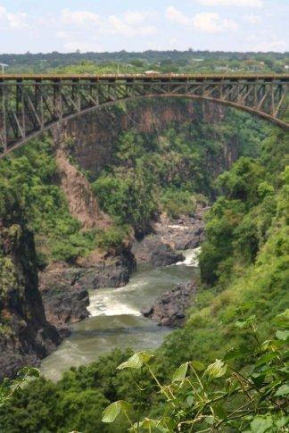 Bungee Bridge between Zambia and Zimbabwe