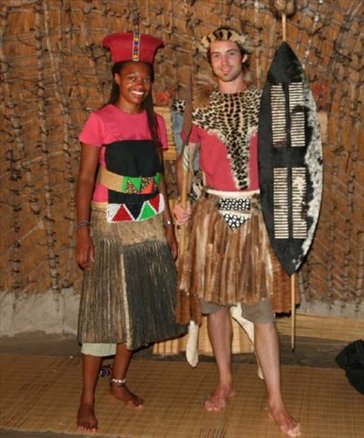 Zulu couple