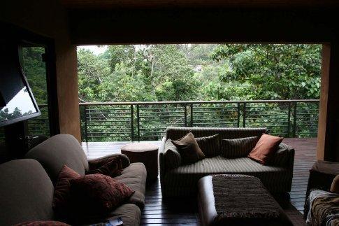 Warren's home: balcony