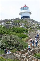 Old lighthouse at Cape Point: by rich, Views[286]
