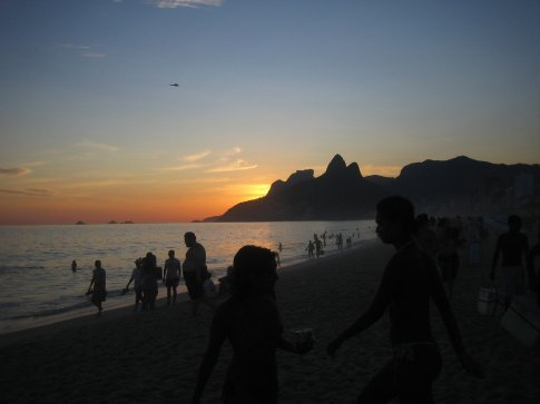 Ipanema by night