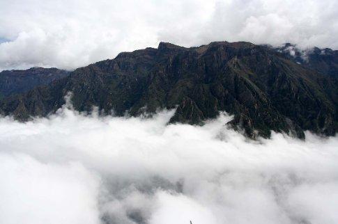 Clouds at Colca Canyon