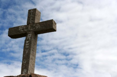 cross at Colca Canyon