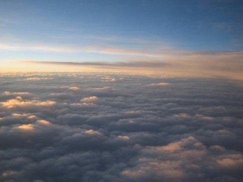 from de plane