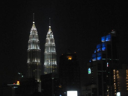 Veiw of Petronas Towers from our room
