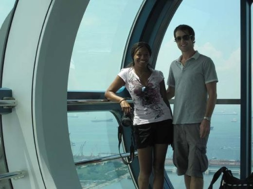 on the singapore flyer
