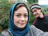 Tone in her muslim shawl, me being me. : by richie, Views[402]