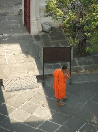 Monk on Mobile.