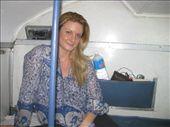 Chloe on the train to Vereval: by rickshawalas, Views[397]