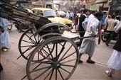 Rickshaws in Kolkata are pulled by man-power: by rickshawalas, Views[501]