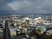 Colorful Reykjavik old town houses looks like the toys from above. All whose colors should elate on bleak winter periods.: by rima-virbauskaite, Views[221]