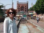 Outside Jama Masjid (Friday Mosque) in Delhi : by roam-if-you-want-to, Views[522]