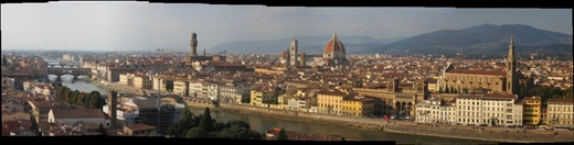 Ah, Florence, in all its splendour