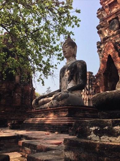 Ayutthaya intact Buddha