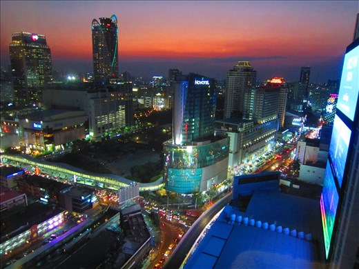 Bangkok from the city core