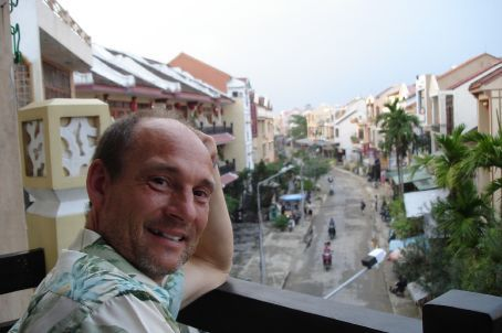 Hoi An hotel balcony view