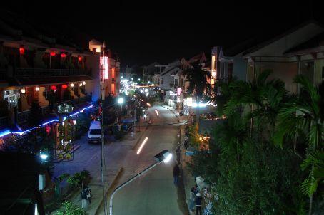 Hoi An street at night