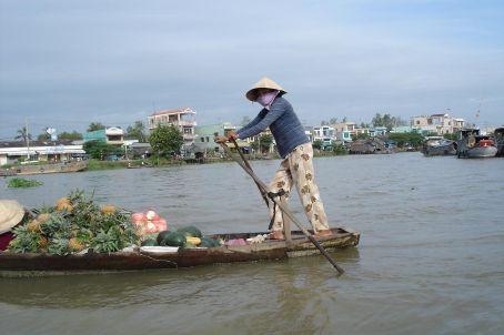Rowing the Mekong