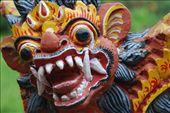 Balinese devil, Ubud, Bali: by robbiesue, Views[613]
