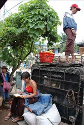 Local transport, Pyin U Lwin, Myanmar: by robbiesue, Views[303]