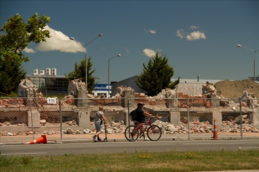 life goes on after the old train station, had been demolish for the safety of the pedestrians and daily commuters.