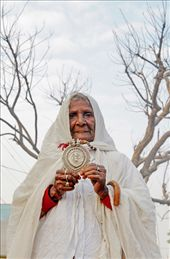 Old lady begging in the streets of Pushkar in Rajasthan,India.: by rohitgautamphotography, Views[296]