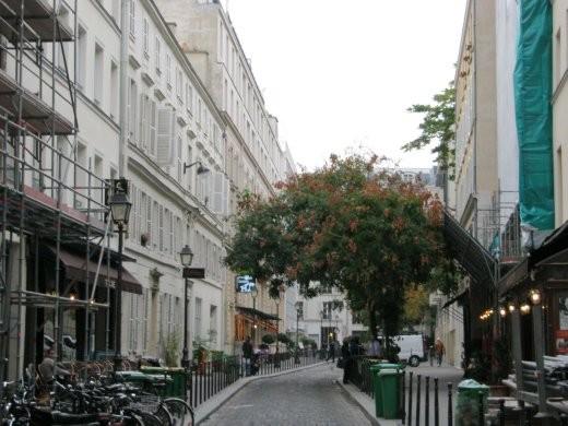 Rue  du Fabourg St Denis