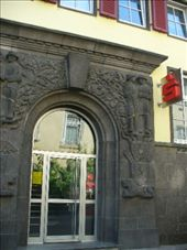 Sparkasse (bank i have ATM card with) branch in St Goar: by romsterrom, Views[697]