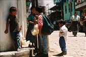 Chicken´s trade between kids , an every day on the way to school activity?...: by ronchos, Views[133]