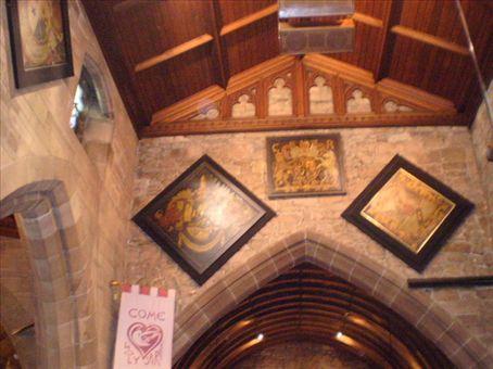 Inside Childwall church