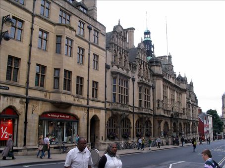 Typical Oxford building