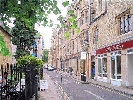 Oxford side street