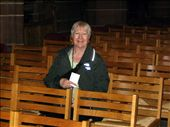 Sandra sitting in the same seat as she did in 1962 when she was confirmed in the cathedral : by ronsan, Views[124]