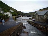 River flowing into Boscastle harbour: by ronsan, Views[198]